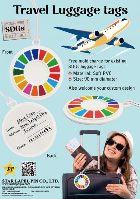 SDGs Luggage Tags.