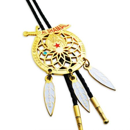 Custom Bolo Ties - People enjoy wearing bolo tie around their neck for formal occasions.