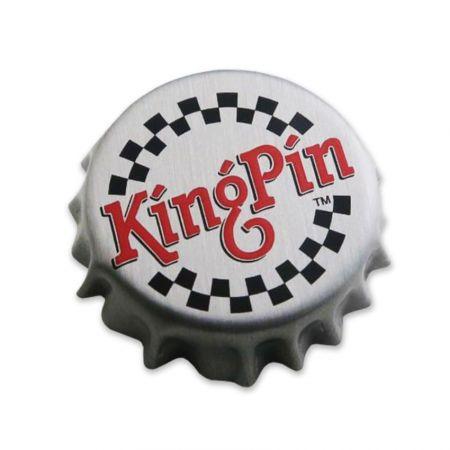 Bottle Cap Pins - Custom bottle cap pins