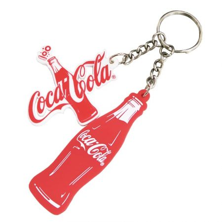 2D PVC Keychain - The key to a great gift is making it personal.