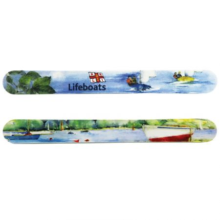 Custom Nail Files - Custom nail files are good promotional products for beauty salons.