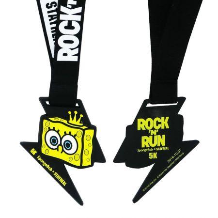 ПВХ медаль - Медаль марафона из ПВХ - это модный, экологичный, крутой предмет.