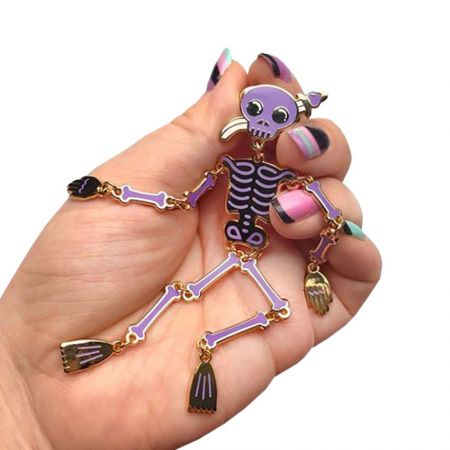 Dangle Pin - The dangle pin is to make a lovely addition to your pin collection.