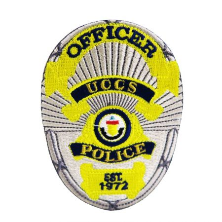 Custom Police Patches - Our custom police patches are made using colorfast fabric.