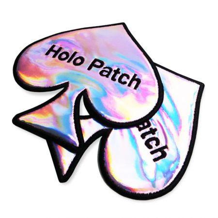 We can customized the holographic patches according to your design.