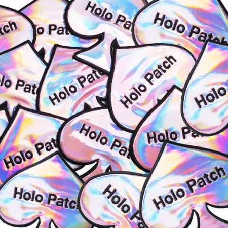 Holographic Patches - We are very glad to produce personalized holographic patches for you.