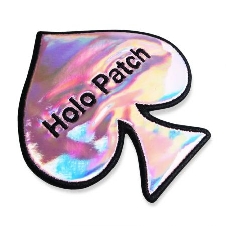The holographic patches has ready to join your favorite jacket or bag.