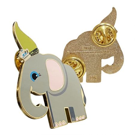 This standing lapel pins is our open design.