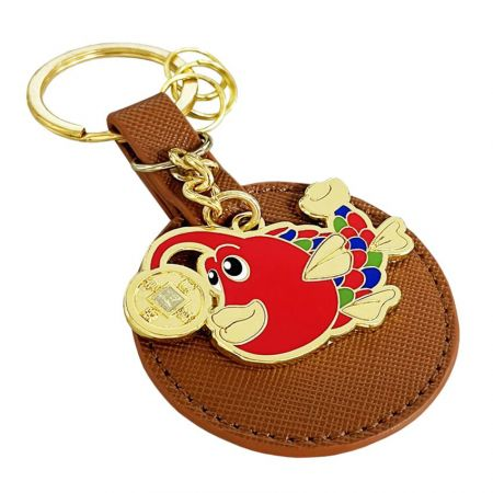 Custom Leather Keychain - Leather key tag is a fashion and you cannot miss out.