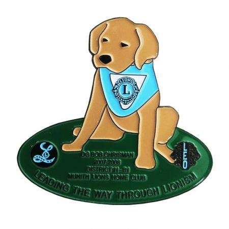 Булавки клуба и значки ассоциации - Эти значки-булавки со львами могут стать отличным способом продвижения вашего клуба.