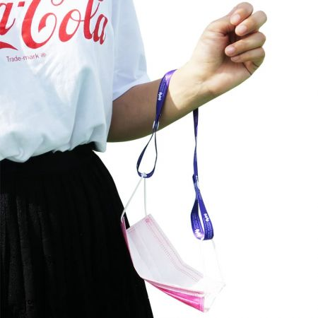 Face mask lanyards are excellent accessory for adults or children.