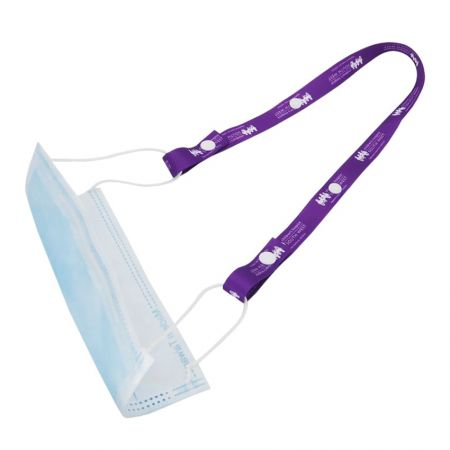 Face mask lanyards are perfect for when you need to take a mask break.