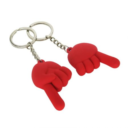 Non-Contact PVC Keychains - We have PVC material for non-contact keychains.