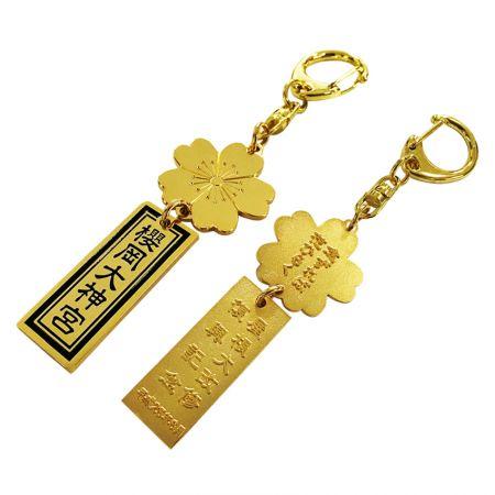 Soft Enamel Keychain - Custom soft enamel keychain is giveaway promotional products.