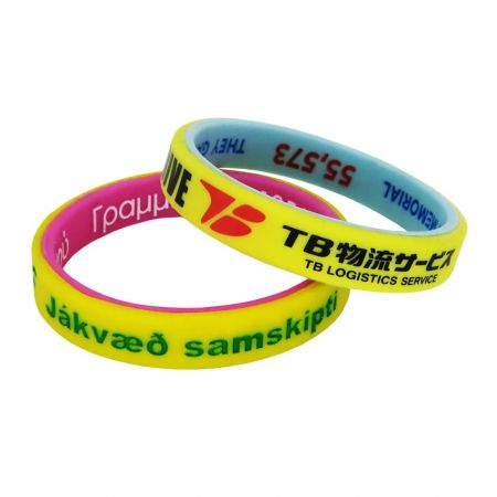 Dual-Layer Wristbands - If you are interested in two-color bracelets, we are your best choice.