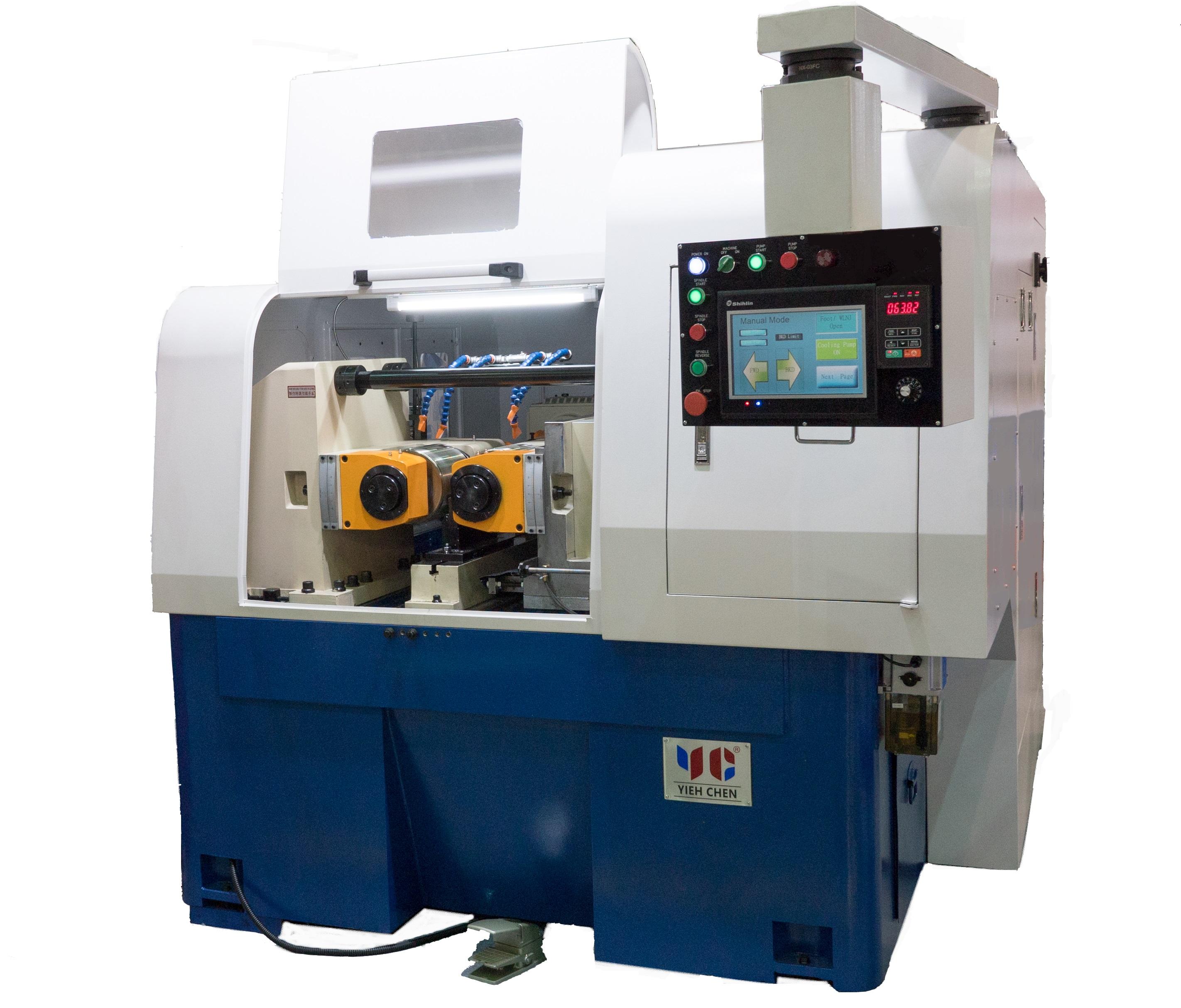 """重型油压滚丝机 (最大外径150mm或5.9"""") - 重型滚丝机"""