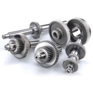 Прямозубые шестерни - Цилиндрическое прямозубое колесо