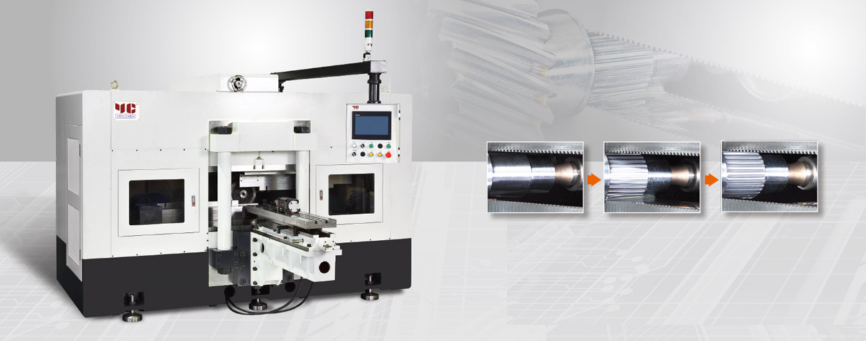 Professional Spline Rolling Machine