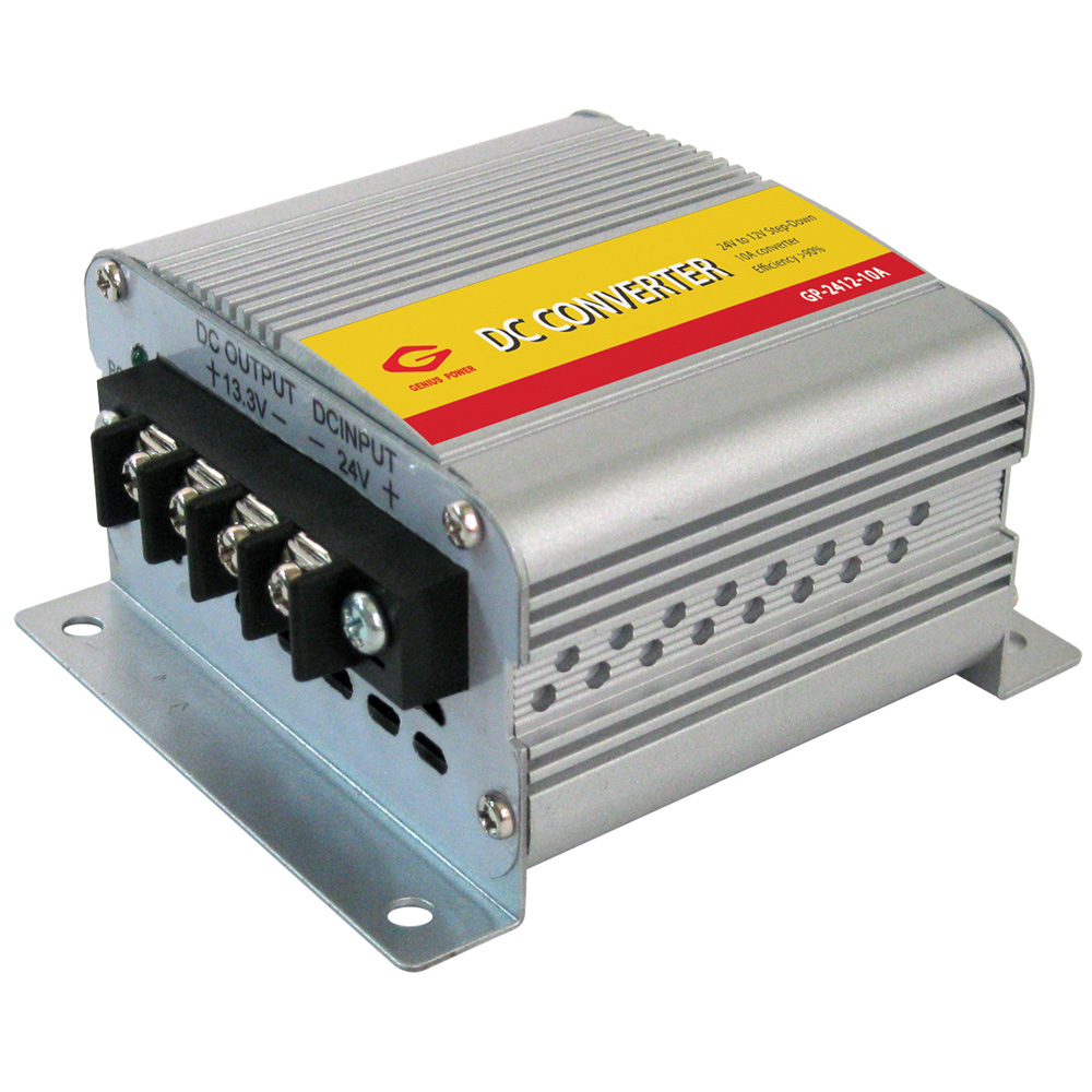 KIMISS DC 24V a 12V Convertidor de poder Inversor el/éctrico Reductor de voltaje Transformador descendente con m/ás Opciones para Carro /& Coche 40A // 480W
