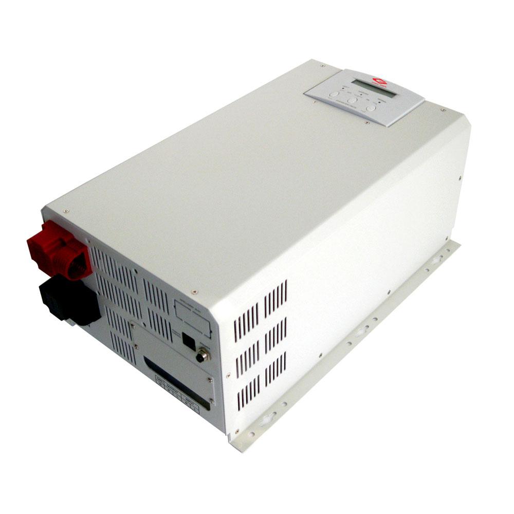 Многофункциональный синусоидальный инвертор  мощностью 2400 Вт может использовать переменный ток для зарядки аккумулятора