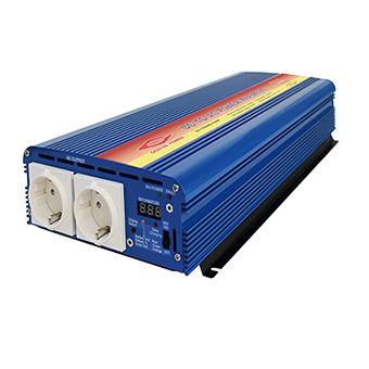 Cargador solar y de onda sinusoidal pura