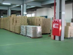 Área de preparação de produtos acabados