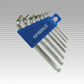 7 PCS Ball Head Hex Key Set - 7 PCS Ball Head Hex Key Set