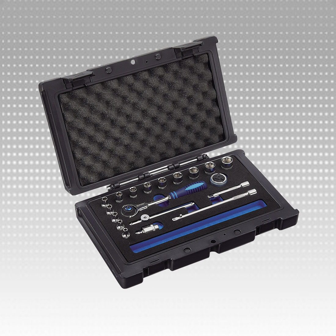 Socket Set with Swivel Universal Ratchet Wrench - Socket Set with Swivel Universal Ratchet Wrench