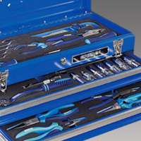 Tool Set - Hand tool set, Tool trolley Mechanical set
