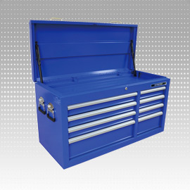 Tool Cabinet - 3-Drawer Portable Tool Cabinet, Metal Tool Case