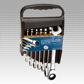 7 PC Alligator One Way Ratcheting Combination Wrench Set - 7 PC Alligator One Way Ratcheting Combination Wrench Set