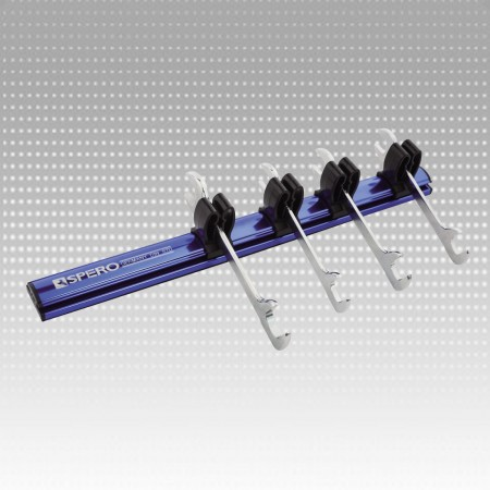 Ultra-slim Open End Wrencg Magnetic Rail Set
