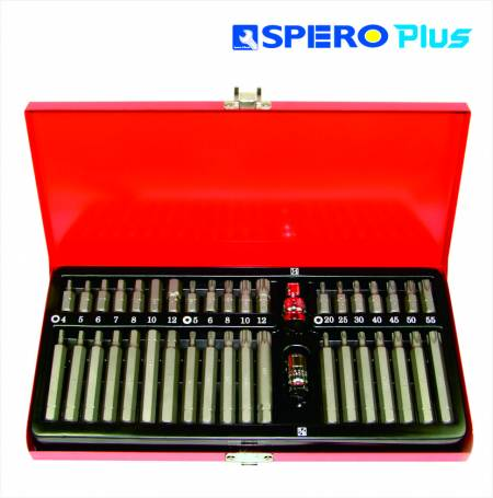 """40 PC Bit with 1/2"""" & 3/8"""" Adaptor - 2 system DR.Adaptor with"""