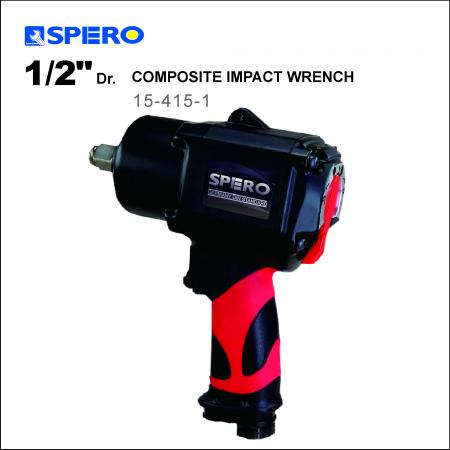 """1/2"""" Dr. Composite Impact Wrench - Spero work efficiency 25% UP Patented Design"""