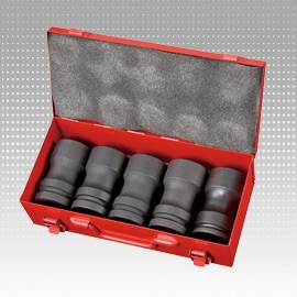 "5 PC 1"" Dr. Deep Impact Socket Set - 5 PC 1"" Dr. Deep Impact Socket Set"