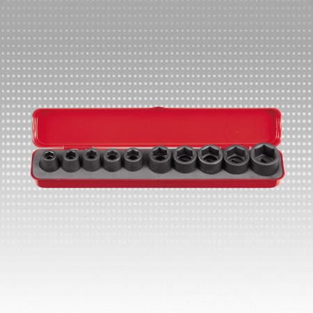 Impact socket set