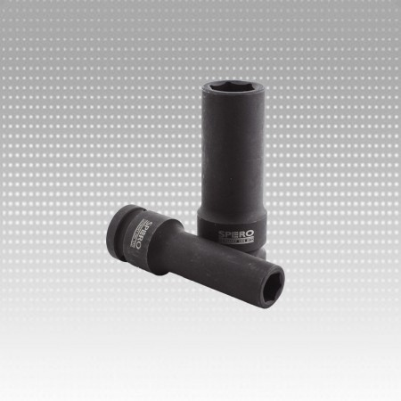 "1/2""Dr. Deep Impact Standard Socket 8mm-6PT - 1/2""Dr. Deep Impact Standard Socket 8mm-6PT"