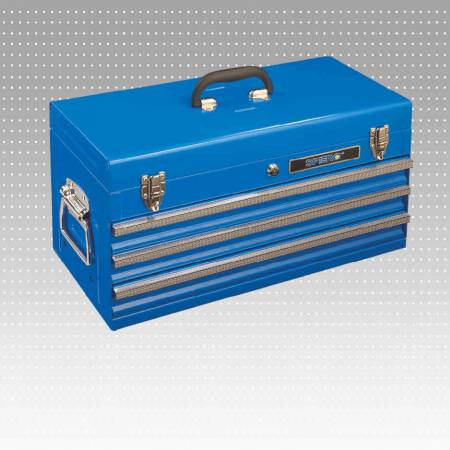 3-Drawer Portable Tool Cabinet - 3-Drawer Portable Tool Cabinet