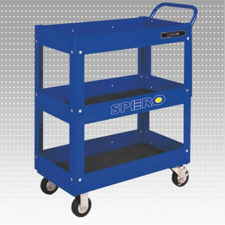 3-Layer Open Tool Trolley