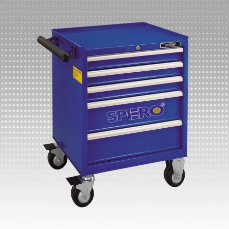 5-Drawer Tool Trolley - 5-Drawer Tool Trolley