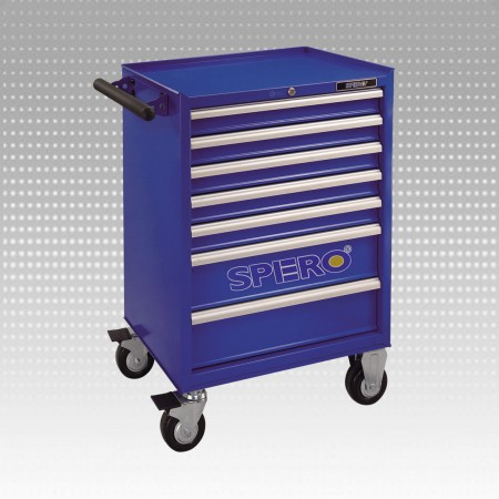 7-Drawer Tool Trolley - 7-Drawer Tool Trolley