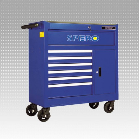 "42"" 8-Drawer Tool Trolley - 42"" 8-Drawer Tool Trolley"