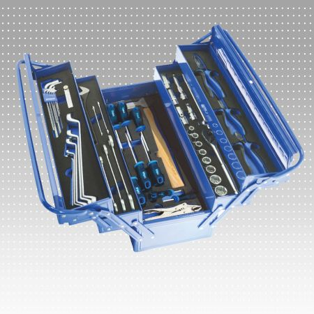 75 PC Hand Carry 5 Layer Tool Trolley