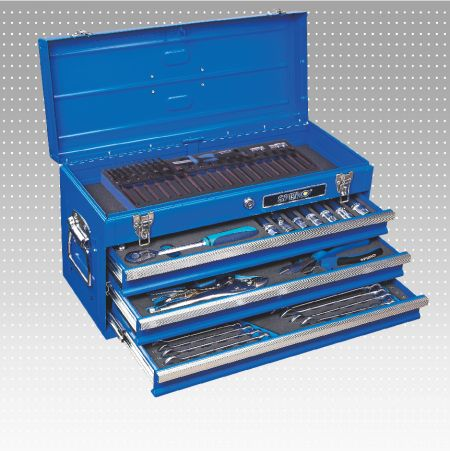 125 PC 3-Drawer Tool Set