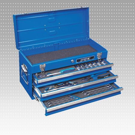 54 PC 3-Drawer Tool Set