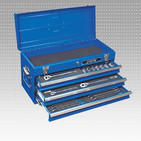 87 PC 3-Drawer Tool Set