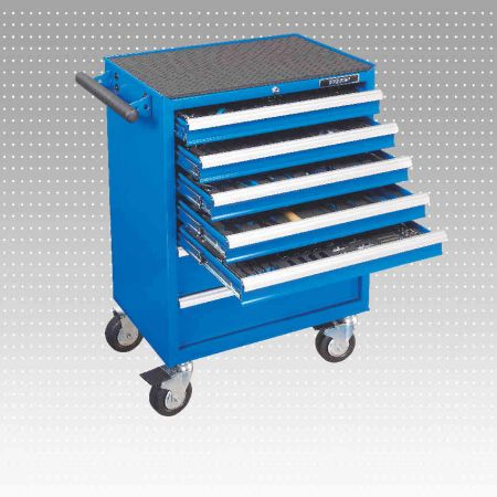 262 PC 7-Drawer Tool Trolley & Tool Set