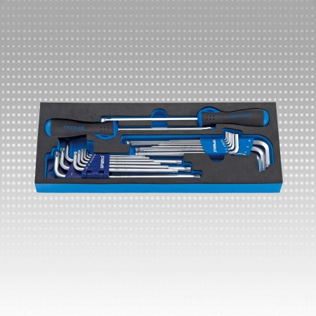 20PC HEX KEY AND SCREWDRIVER SET