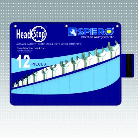 Head stop combination set (POP Pouch Package)