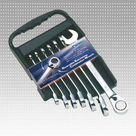 Reversible Ratcheting Combination Wrench set